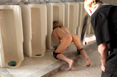 Photo number 15 from Training Lily LaBeau - Day Two<br>Trust, Deprivation, Humiliation, & Proper Service to a Female shot for The Training Of O on Kink.com. Featuring Lily LaBeau and Isis Love in hardcore BDSM & Fetish porn.