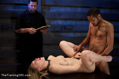 Photo number 15 from Sexual Training Lily LaBeau<br>Day 3 shot for The Training Of O on Kink.com. Featuring Lily LaBeau, Mickey Mod and Maestro Stefanos in hardcore BDSM & Fetish porn.