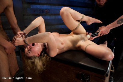 Photo number 4 from Sexual Training Lily LaBeau<br>Day 3 shot for The Training Of O on Kink.com. Featuring Lily LaBeau, Mickey Mod and Maestro Stefanos in hardcore BDSM & Fetish porn.