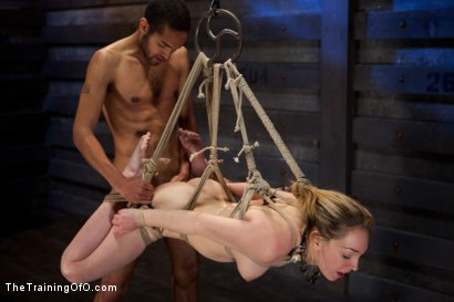 Photo number 6 from Sexual Training Lily LaBeau<br>Day 3 shot for The Training Of O on Kink.com. Featuring Lily LaBeau, Mickey Mod and Maestro Stefanos in hardcore BDSM & Fetish porn.