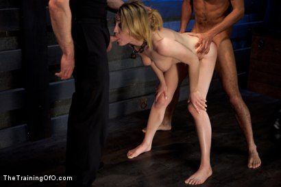 Photo number 12 from Sexual Training Lily LaBeau<br>Day 3 shot for The Training Of O on Kink.com. Featuring Lily LaBeau, Mickey Mod and Maestro Stefanos in hardcore BDSM & Fetish porn.