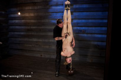 Photo number 7 from Training Lily LaBeau Day 4<br>Early Invasion, Exercise, and Bastinado shot for The Training Of O on Kink.com. Featuring Lily LaBeau in hardcore BDSM & Fetish porn.