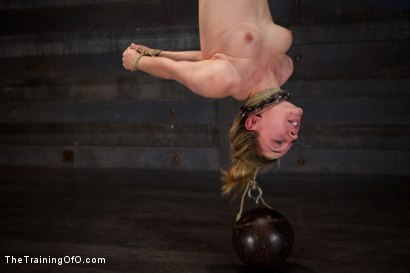 Photo number 8 from Training Lily LaBeau Day 4<br>Early Invasion, Exercise, and Bastinado shot for The Training Of O on Kink.com. Featuring Lily LaBeau in hardcore BDSM & Fetish porn.