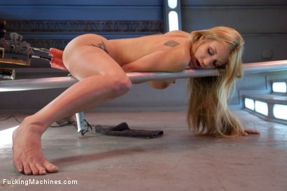 Photo number 3 from The Yes Girl: Amy Brooke and Her Bottomless Quest for Orgasms shot for Fucking Machines on Kink.com. Featuring Amy Brooke in hardcore BDSM & Fetish porn.