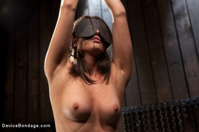 Photo number 2 from N00b getz PWND - first timer suffers intense bondage  shot for Device Bondage on Kink.com. Featuring Casey Calvert in hardcore BDSM & Fetish porn.
