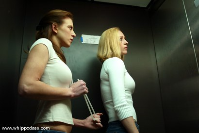 Photo number 1 from Cloe Hart and Audrey Leigh shot for Whipped Ass on Kink.com. Featuring Cloe Hart and Audrey Leigh in hardcore BDSM & Fetish porn.