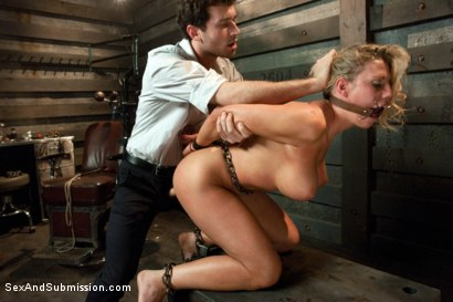 Photo number 9 from American Whore Story shot for Sex And Submission on Kink.com. Featuring Charisma Cappelli and James Deen in hardcore BDSM & Fetish porn.