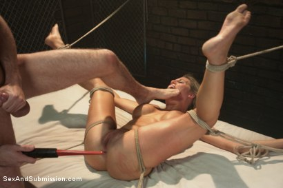 Photo number 12 from American Whore Story shot for Sex And Submission on Kink.com. Featuring Charisma Cappelli and James Deen in hardcore BDSM & Fetish porn.