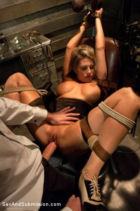 Photo number 2 from American Whore Story shot for Sex And Submission on Kink.com. Featuring Charisma Cappelli and James Deen in hardcore BDSM & Fetish porn.
