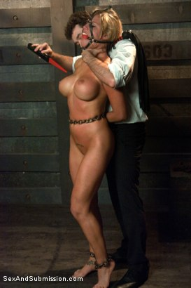 Photo number 6 from American Whore Story shot for Sex And Submission on Kink.com. Featuring Charisma Cappelli and James Deen in hardcore BDSM & Fetish porn.
