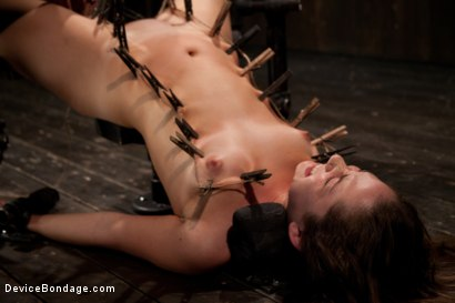 Photo number 11 from Fresh innocent girl bound and made to cum, confused between pain and pleasure shot for Device Bondage on Kink.com. Featuring Remy LaCroix in hardcore BDSM & Fetish porn.