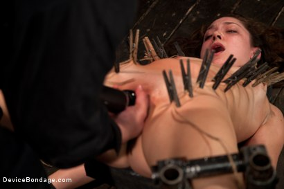 Photo number 12 from Fresh innocent girl bound and made to cum, confused between pain and pleasure shot for Device Bondage on Kink.com. Featuring Remy LaCroix in hardcore BDSM & Fetish porn.