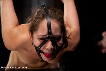 Photo number 9 from Fresh innocent girl bound and made to cum, confused between pain and pleasure shot for Device Bondage on Kink.com. Featuring Remy LaCroix in hardcore BDSM & Fetish porn.