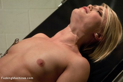 Photo number 14 from Hot Blond Gymnast Stretched and Fucked By Machines Until She SQUIRTS! shot for Fucking Machines on Kink.com. Featuring Ash Hollywood in hardcore BDSM & Fetish porn.