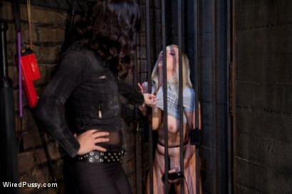 Photo number 1 from A Test in Electro Sex for Cherry Torn shot for Wired Pussy on Kink.com. Featuring Bobbi Starr and Cherry Torn in hardcore BDSM & Fetish porn.