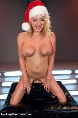 Photo number 10 from Merry Christmas From FuckingMachines.com : Bonus Sybian Update shot for Fucking Machines on Kink.com. Featuring Ash Hollywood, Charisma Cappelli, Alysa and Jagger Jordan in hardcore BDSM & Fetish porn.