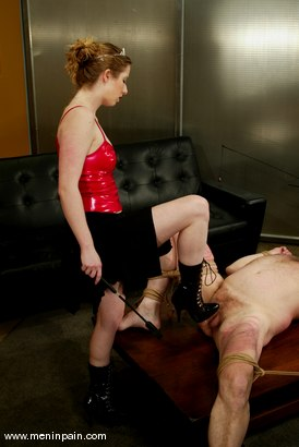 Photo number 2 from Princess Kali and Slave shot for Men In Pain on Kink.com. Featuring Princess Kali and Slave in hardcore BDSM & Fetish porn.