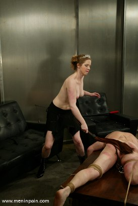 Photo number 6 from Princess Kali and Slave shot for Men In Pain on Kink.com. Featuring Princess Kali and Slave in hardcore BDSM & Fetish porn.