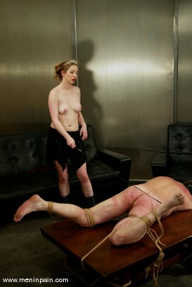 Photo number 8 from Princess Kali and Slave shot for Men In Pain on Kink.com. Featuring Princess Kali and Slave in hardcore BDSM & Fetish porn.