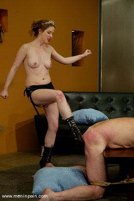 Photo number 9 from Princess Kali and Slave shot for Men In Pain on Kink.com. Featuring Princess Kali and Slave in hardcore BDSM & Fetish porn.