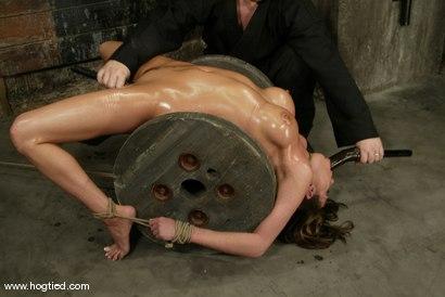 Photo number 15 from Sasha Sparks shot for Hogtied on Kink.com. Featuring Sasha Sparks in hardcore BDSM & Fetish porn.