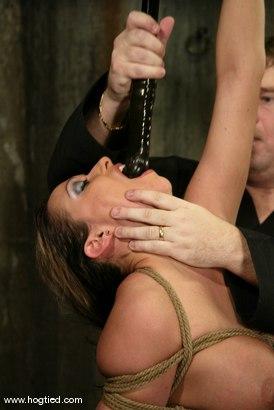 Photo number 6 from Sasha Sparks shot for Hogtied on Kink.com. Featuring Sasha Sparks in hardcore BDSM & Fetish porn.
