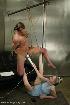Photo number 12 from Sasha Sparks shot for Wired Pussy on Kink.com. Featuring Sasha Sparks in hardcore BDSM & Fetish porn.