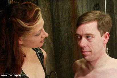 Photo number 15 from Carly and Michael J Cox shot for Men In Pain on Kink.com. Featuring Michael J Cox and Carly in hardcore BDSM & Fetish porn.
