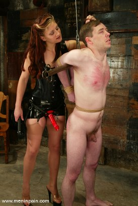 Photo number 4 from Carly and Michael J Cox shot for Men In Pain on Kink.com. Featuring Michael J Cox and Carly in hardcore BDSM & Fetish porn.