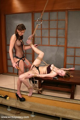 Photo number 1 from Audrey Leigh and Star shot for Wired Pussy on Kink.com. Featuring Audrey Leigh and Star in hardcore BDSM & Fetish porn.