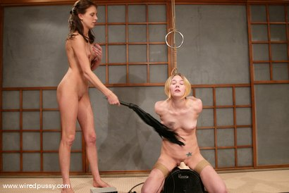Photo number 9 from Audrey Leigh and Star shot for Wired Pussy on Kink.com. Featuring Audrey Leigh and Star in hardcore BDSM & Fetish porn.