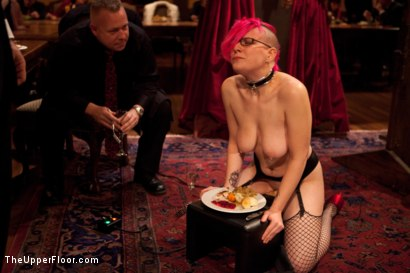 Photo number 21 from Thanksgiving: Part One shot for The Upper Floor on Kink.com. Featuring Skin Diamond, Juliette March, Krysta Kaos and Iona Grace in hardcore BDSM & Fetish porn.