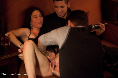 Photo number 20 from Thanksgiving: Part Two shot for The Upper Floor on Kink.com. Featuring Skin Diamond, Juliette March, Krysta Kaos and Iona Grace in hardcore BDSM & Fetish porn.