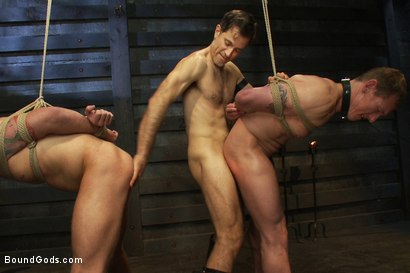 Photo number 10 from Please let me take his pain, Sir shot for Bound Gods on Kink.com. Featuring Van Darkholme, Master Avery, Sebastian Keys and Kieron Ryan in hardcore BDSM & Fetish porn.