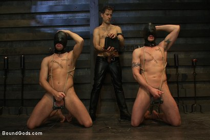 Photo number 1 from Please let me take his pain, Sir shot for Bound Gods on Kink.com. Featuring Van Darkholme, Master Avery, Sebastian Keys and Kieron Ryan in hardcore BDSM & Fetish porn.
