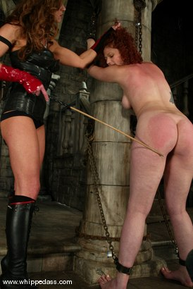Photo number 6 from Kym Wilde and Venus May shot for Whipped Ass on Kink.com. Featuring Venus May and Kym Wilde in hardcore BDSM & Fetish porn.