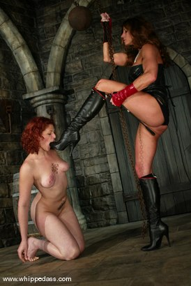 Photo number 9 from Kym Wilde and Venus May shot for Whipped Ass on Kink.com. Featuring Venus May and Kym Wilde in hardcore BDSM & Fetish porn.