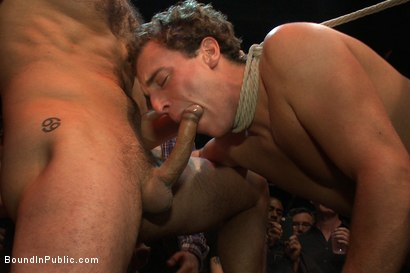 Photo number 12 from Horny men attack a hot pole dancer at a local strip joint shot for Bound in Public on Kink.com. Featuring Mike Martin and Jacob Durham in hardcore BDSM & Fetish porn.