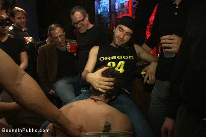 Photo number 4 from Horny men attack a hot pole dancer at a local strip joint shot for Bound in Public on Kink.com. Featuring Mike Martin and Jacob Durham in hardcore BDSM & Fetish porn.