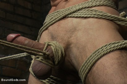 Photo number 6 from The Beast of Burden shot for Bound Gods on Kink.com. Featuring Ricky Sinz and Jason Miller in hardcore BDSM & Fetish porn.