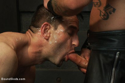 Photo number 13 from The Beast of Burden shot for Bound Gods on Kink.com. Featuring Ricky Sinz and Jason Miller in hardcore BDSM & Fetish porn.