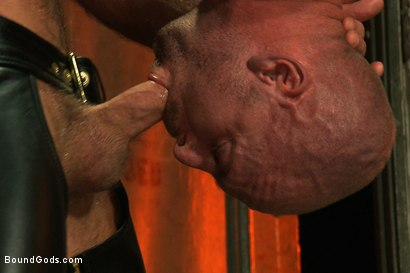 Photo number 7 from Man Sex Dungeon shot for Bound Gods on Kink.com. Featuring Mitch Vaughn and Josh West in hardcore BDSM & Fetish porn.