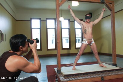 Photo number 2 from Trent Diesel's Orgasmic Adventure shot for Men On Edge on Kink.com. Featuring Trent Diesel in hardcore BDSM & Fetish porn.