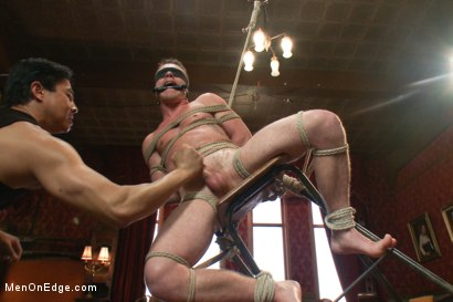 Photo number 14 from Drake Wild - Hot Straight Stud shot for Men On Edge on Kink.com. Featuring Drake Wild in hardcore BDSM & Fetish porn.