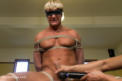 Photo number 8 from Gavin Waters - Blond Surfer Stud shot for Men On Edge on Kink.com. Featuring Gavin Waters in hardcore BDSM & Fetish porn.