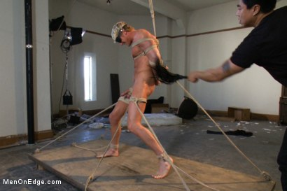 Photo number 4 from Gavin Waters - Blond Surfer Stud shot for Men On Edge on Kink.com. Featuring Gavin Waters in hardcore BDSM & Fetish porn.