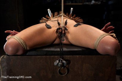 Photo number 15 from Day 5 for Beretta. Will she be the perfect slave? shot for The Training Of O on Kink.com. Featuring The Pope and Beretta James in hardcore BDSM & Fetish porn.