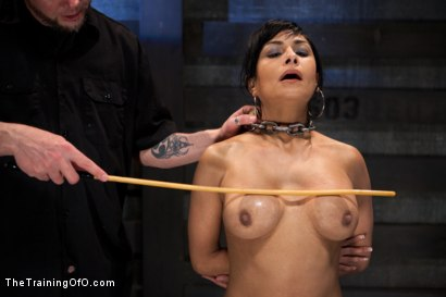 Photo number 18 from Day 5 for Beretta. Will she be the perfect slave? shot for The Training Of O on Kink.com. Featuring The Pope and Beretta James in hardcore BDSM & Fetish porn.