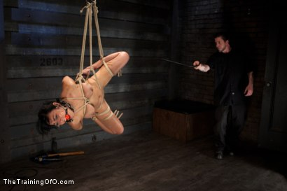 Photo number 21 from Day 5 for Beretta. Will she be the perfect slave? shot for The Training Of O on Kink.com. Featuring The Pope and Beretta James in hardcore BDSM & Fetish porn.