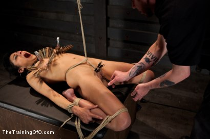 Photo number 9 from Day 5 for Beretta. Will she be the perfect slave? shot for The Training Of O on Kink.com. Featuring The Pope and Beretta James in hardcore BDSM & Fetish porn.